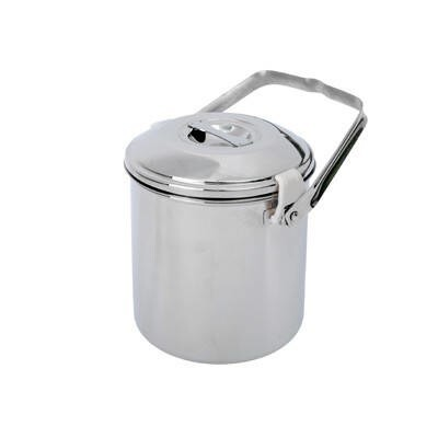 LOGO_BasicNature Stainless Steel Pot 'Billy Can' 1,4 L