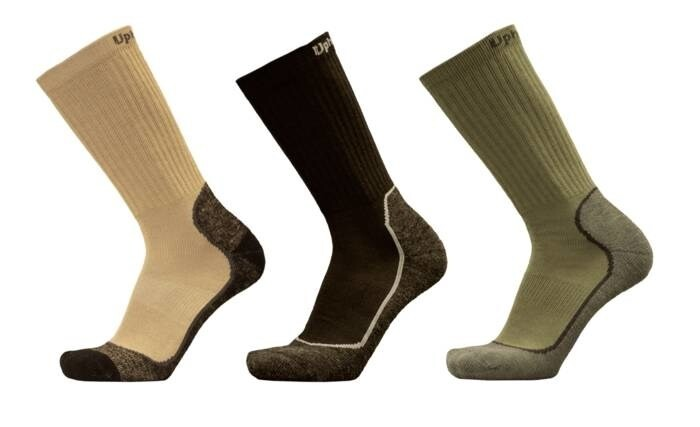 """LOGO_UphillSport """"Recon"""" Tactical 4-Layer M5 Drytech sock with Merino and Coolmax"""