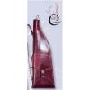 LOGO_Leather Side-by-side shotgun case, breakdown