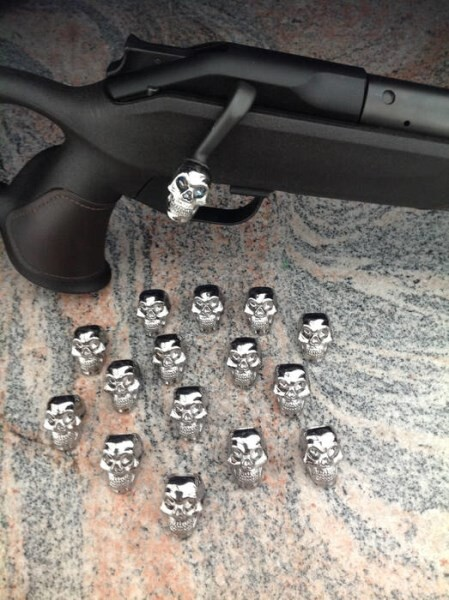 LOGO_For all Blaserguns - handleboltball scull- different types available