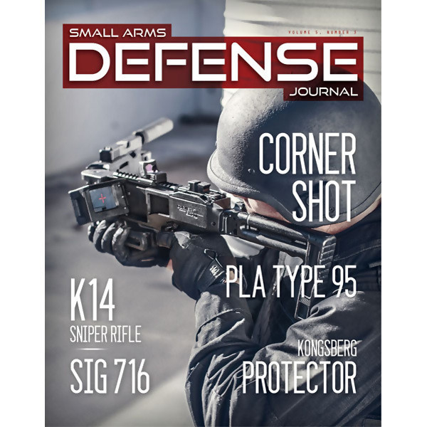 LOGO_Magazine: Small Arms Defense Journal