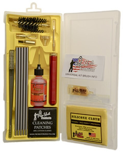 LOGO_UNIVERSAL .22 Cal. - 12 GA Box Cleaning Kit