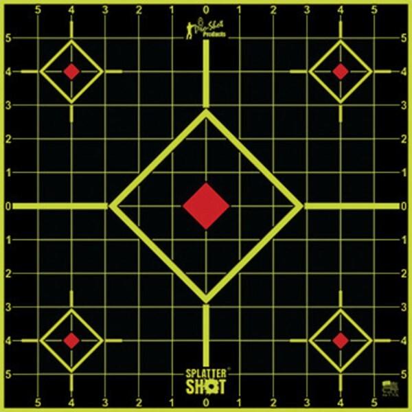 "LOGO_SplatterShot® 12"" Green Sight In Target"