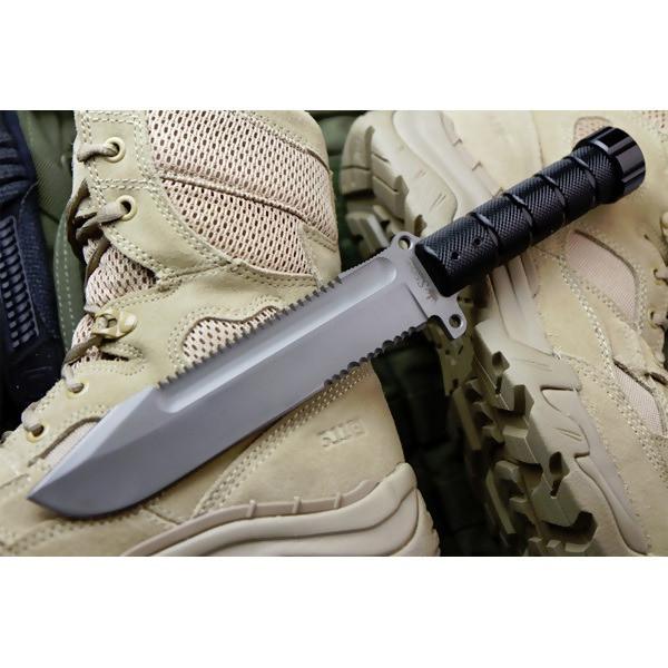 LOGO_Survival Knives - Survivalist AUS-8 Bead Blast
