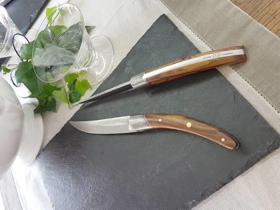 LOGO_STYLVER ORIGINES - Table steak knife