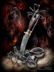 LOGO_mosaic damascus steel knives