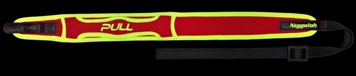 "LOGO_Neoprene Rifle Sling ""PULL"" with Quick Releases"