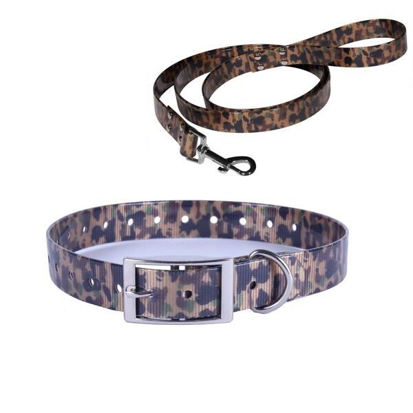 LOGO_camo hunting dog collar