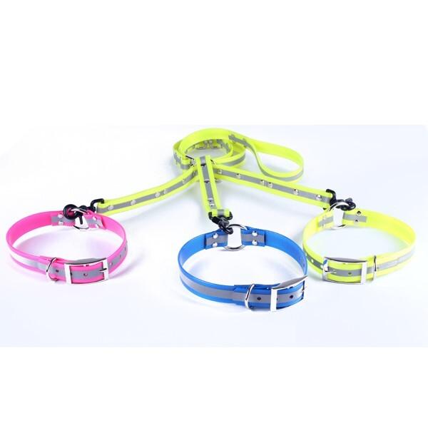 LOGO_reflective dog collar and leash