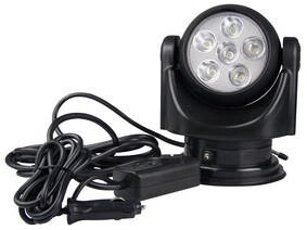 LOGO_LED 30 W Rotosearchlight 12V, wired remote control