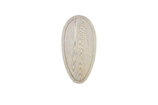 LOGO_Oval wooden panel for a trophy