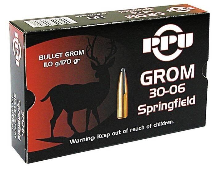 LOGO_GROM Ammunition