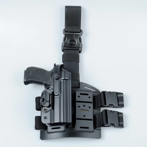 LOGO_Plastic duty belts and tactical holster