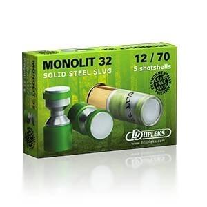 LOGO_Monolit 32 steel slug shotgun ammunition