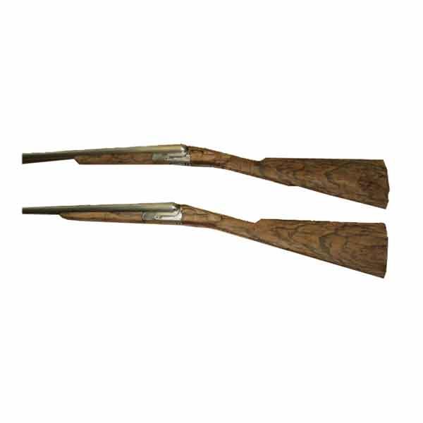 LOGO_Matching set of shotguns.