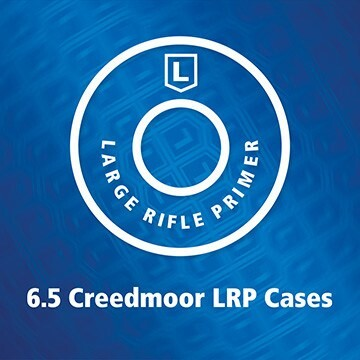 LOGO_New! 6.5 Creedmoor Large Rifle Primer cartridge case