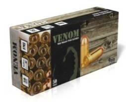LOGO_VENOM 9X18mm Makarov Pistol Cartridges
