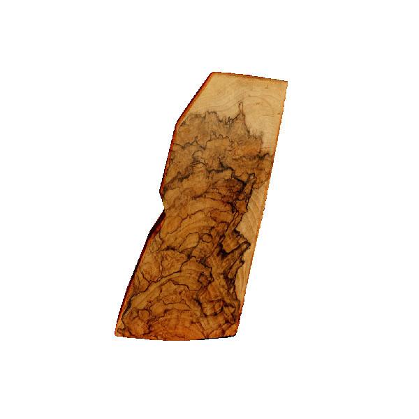 LOGO_Walnut gunstock blank for an automatic gun