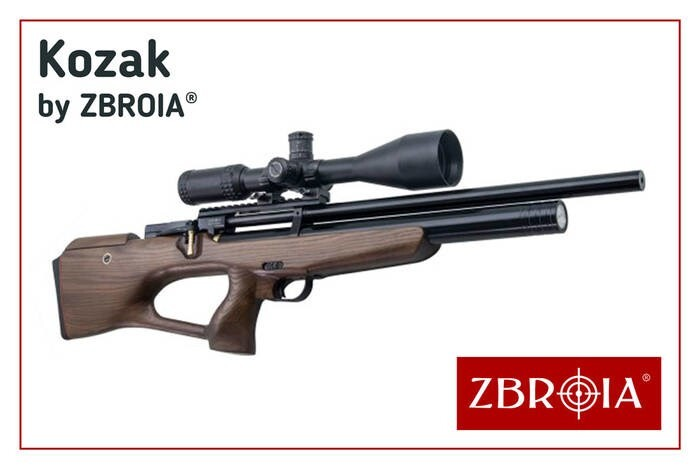 LOGO_KOZAK PCP air rifle by ZBROIA Company