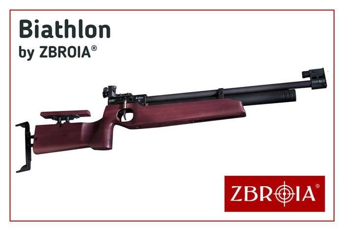 LOGO_BIATHLON PCP air rifle by ZBROIA Company