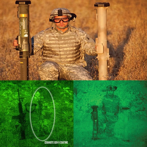 LOGO_Cerakote Gen II Coatings: Reduced Weapons Visual-IR Signature Detection