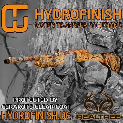 LOGO_Hydrofinish Wassertransferbeschichtung - Exklusiv mit Realtree in Deutschland