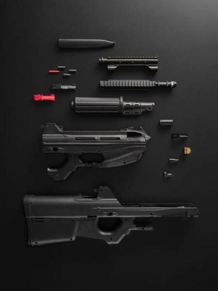 LOGO_MACHINE GUN - POLYFORM PLASTIC PARTS