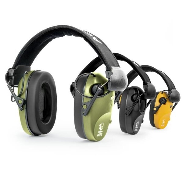 LOGO_RealHunter® ACTiVE Pro active hearing protectors + shooting glasses
