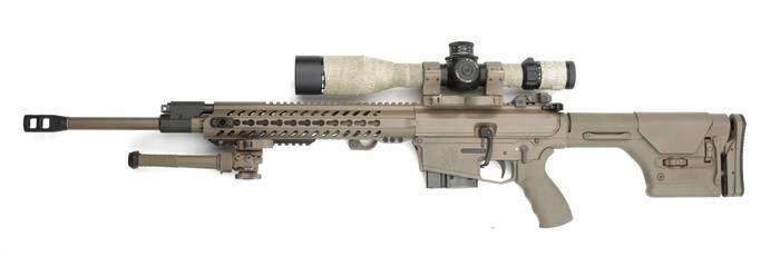 LOGO_Präzisionsgewehr LA-110 A2 SASS, Kal. 7,62 x 51 mm