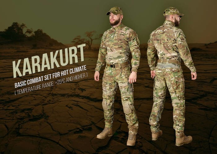 "LOGO_""KARAKURT"" – Combat Set for hot climate (temperature range +25C° and higher)"