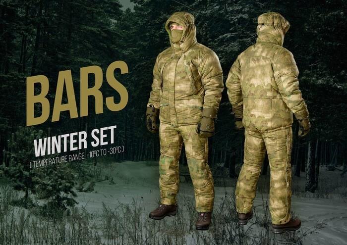 """LOGO_""""BARS"""" – Winter Set (temperature range -10C° to -30C°)"""
