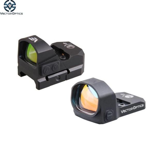 LOGO_20000-Hour Vector Optics Frenzy Waterproof AR15 12GA Glock 9mm Pistol Mini 3 MOA Red Dot Reflex Sight fit with Night Vision