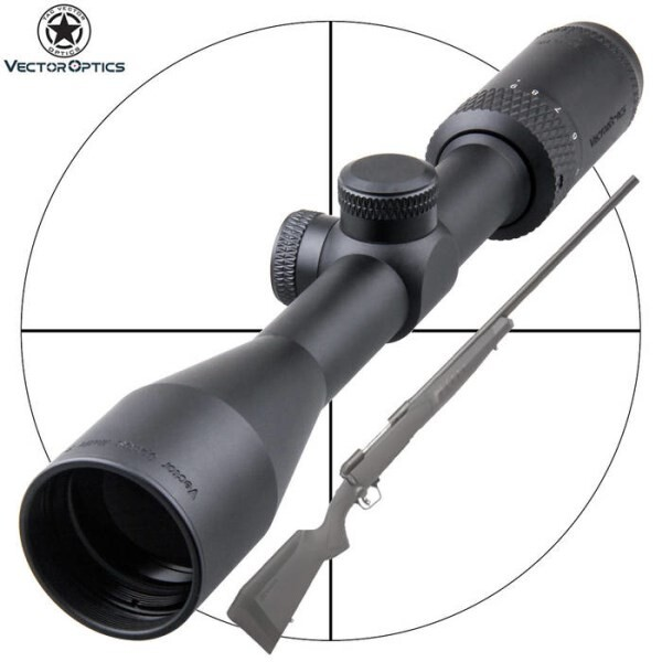 LOGO_Vector Optics Matiz 3-9x40 One Inch Hunting Capped Rifle Scope Vamint Shooting w/ Edge to Edge Image FOV