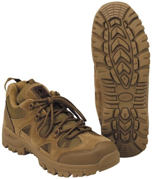 """LOGO_Low Shoes, """"Tactical Low"""", coyote tan"""