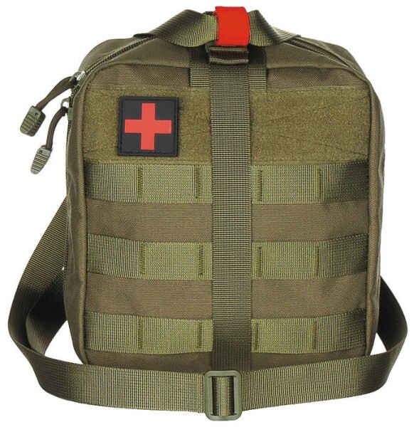 """LOGO_Pouch, First Aid, large, """"MOLLE"""", OD green"""