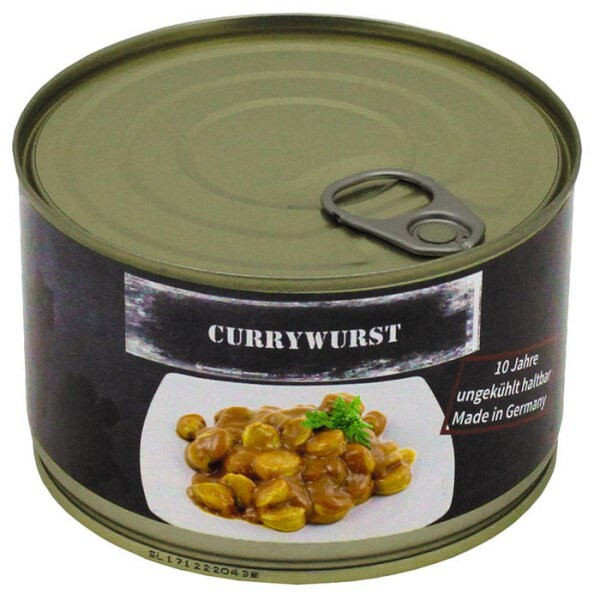 LOGO_Curry Sausage, canned, 400 g