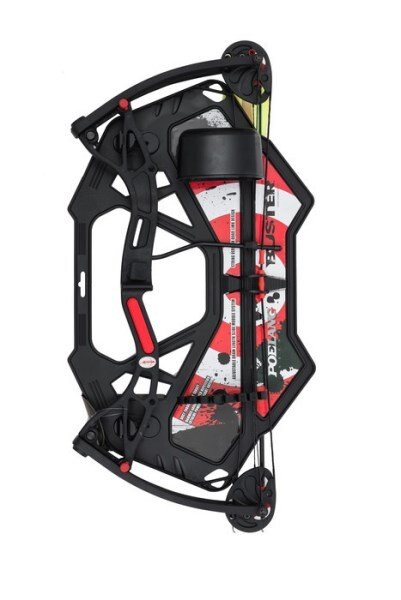 LOGO_Buster Quad Limbs Youth Compound Bow (Black)