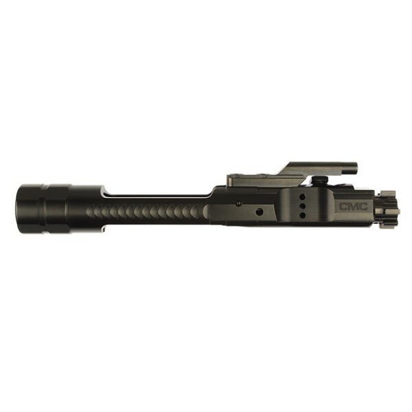 LOGO_CMC Triggers Enhanced AR15/M16 5.56 Bolt Carrier Group – Black Nitride – Mil-Spec