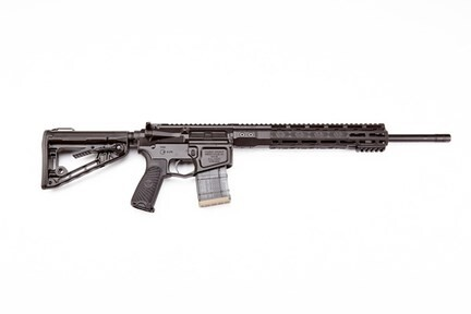 "LOGO_TH-300H18BLK, Wilson Combat WC15 Tactical Hunter, 300 HAM'R, 18"", Semi-Auto Only."