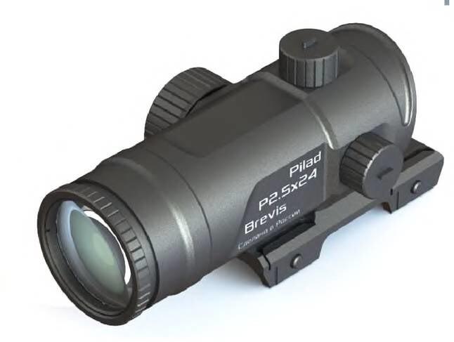 LOGO_Prismatic sight P2,5x24 L Brevis