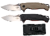 LOGO_Ball Bearing knife two color G10 Handle and 8Cr14MoV blade