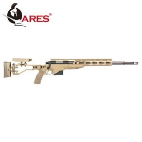 LOGO_Ares Airsoft bolt action sniper rifle M40-A6 dark earth