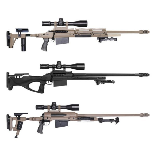 LOGO_M2 / X3 / X4 / X5 - precision rifles