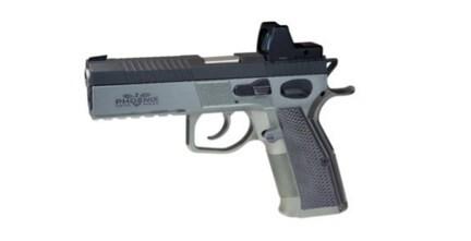 LOGO_PHOENIX REDBACK Carry Optic Upper Frame Steel / Lower Frame Steel Available in Light and Ultra Light