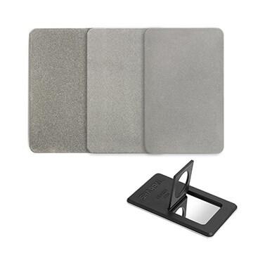 LOGO_SHARPAL 116N Credit Card Size Diamond Sharpening Stone, 3-Pack