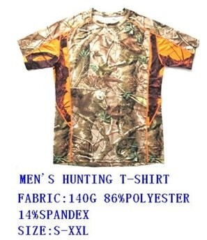 LOGO_MEN'S HUNTING T-SHIRT