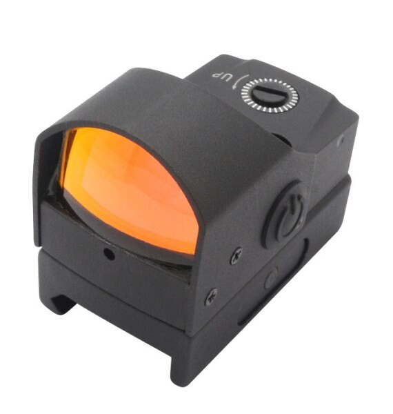 LOGO_1x17x23 800G shock proof mini red dot scope reflex sight with auotmatic brightness changing