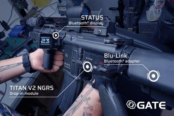 LOGO_STATUS - Tactical gun-mounted computer