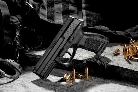 LOGO_AGAOGLU 9*19mm Handgun