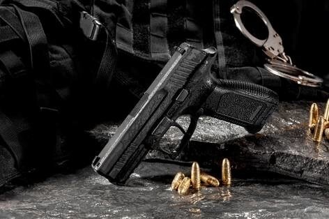 LOGO_AGAOGLU 9*19mm Handgun Photo 2